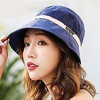 LTQ&qing Sombrero del ocio al aire libre del sombrero del pa?o del pa?o de las mujeres del sombrero de la primavera y del verano , D , m (56-58cm)