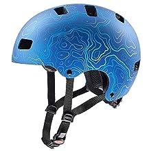 Uvex Bike Helmets Bike Helmets, Dark Red, 51-55