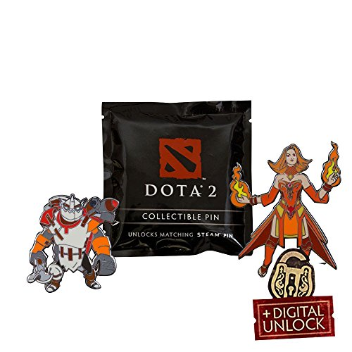 DOTA 2 Blindbox COLLECTIBLE PINS (1 Zufalls Pin gesendet) DOTA 2 BLINDBOX COLLECTIBLE PINS (1 Random Pin Sent) - 1 Dota