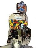 Mini-Fresh-Box Verkaufsautomat. Münzautomat für Pfefferminz, Mentos, als Kaugummiautomat. Robuster Warenautomat, Metallgehäuse