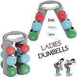 Generic LQ.. 1.. LQ.. 2711.. LQ C Home Gewichte Bell SE Damen Aerobic S T Training Gym ING Gym Vinyl Dumbbell Set Workout Fitness Workout NV _ 1001002711-cnuk22_ 452