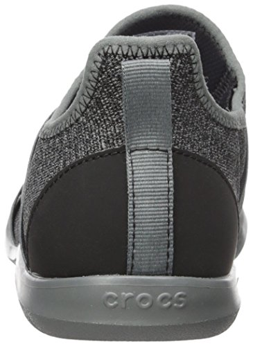 Crocs - Chaussettes Static Clog pour femme Swiftwater Cross-Strap Slate Grey