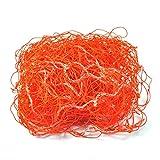 Rete di Calcio, Rete Sostitutiva di Calcio, Rete di reti da Calcio per la Pratica dell'allenamento Partita Arancione(7.5m*2.5m)