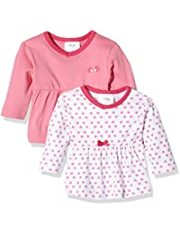 Twins Baby Girls Long Sleeve Tee (Pack of 2)