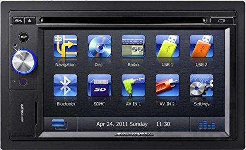 Blaupunkt NEW YORK 800 Navigationssystem ( 6.2 Zoll Display,starrer Monitor, 16:9,Kontinent ) Blaupunkt Dvd
