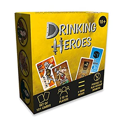 Drinking Game Drinking Heroes (English Version) : The Fantastic Game for Parties Among Friends