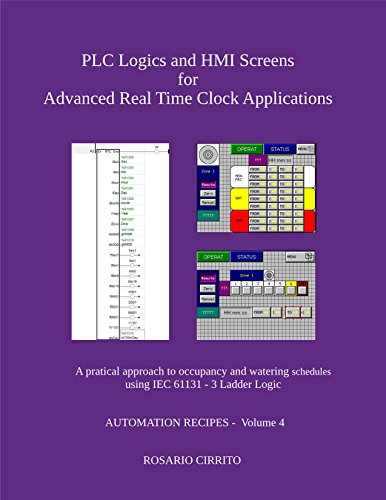 PLC Logics and HMI Screens for Advanced Real Time Clock Automation: A  pratical approach to occupancy and watering schedule using IEC 61131 - 3  Ladder