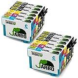 JARBO Compatibile Epson 16XL (T1631 T1632 T1633 T1634) Cartucce d'inchiostro Compatibile con Epson WorkForce WF-2010W WF-2510WF WF-2520NF WF-2530WF WF-2540WF WF-2630WF WF-2650DWF WF-2660DWF WF-2750DWF (6 Nero,2 Ciano,2 Magenta,2 Giallo)
