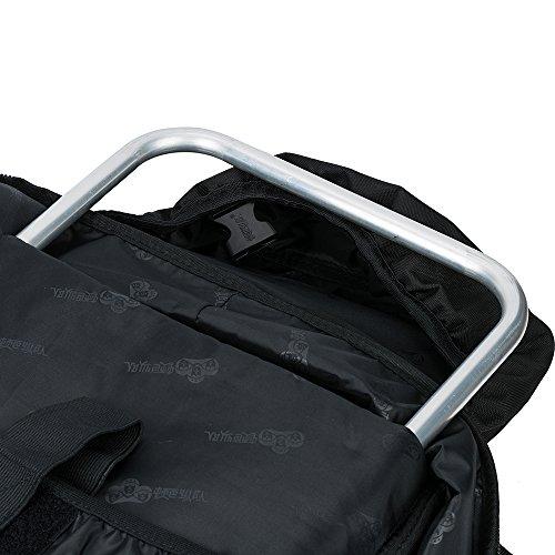 Trekkingrucksäcke,Skysper 50L 60L 65L 70L Hohe Qualität Wasserdicht Outdoor Sports Travel Wanderrucksäcke Trekking rucksäcke 70L-Schwarz