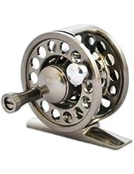 Carrete Pesca exterior Ante Rey Todo Metal ALS1 / 2 carretes de pesca con mosca