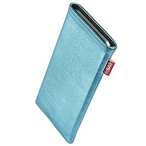fitBAG Groove Türkis Handytasche Tasche aus feinem Folienleder Echtleder mit Microfaserinnenfutter für Samsung Galaxy S3 i9300