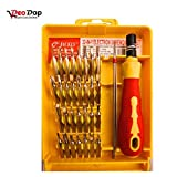 #5: DeoDap Professional Tool Accessories-32 In 1 Interchangeable Precise Screwdriver Tool Set With Magnetic Holder