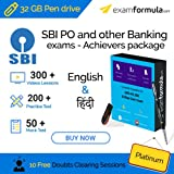 #6: SBI PO - Sure Shot Online preparation (Videos + Practice tests + Mock tests) (32 GB Pendrive) 6 months validity