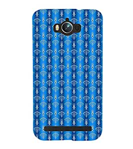 EPICCASE fountain blue Mobile Back Case Cover For Asus Zenfone Max (Designer Case)