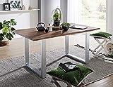 Main Möbel Baumtisch Alba 160x90cm Akazie massiv