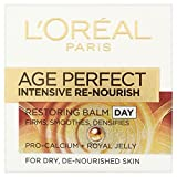L'Oréal Paris Dermo-Expertise Age Re-Perfect Intensive Re-Nourish Aufbauende Tagespflege (50 ml) - Packung mit 2