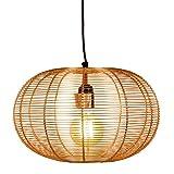 MAADES Design Vintage Pendelleuchte Lampe | Hängeleuchte Alana Kupfer Ø = 34cm, geeignet für E27 Leuchtmittel | Diese Deckenlampe ist für Ihre Küche, Wohnzimmer oder über den Esstisch