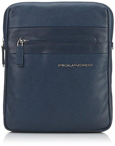 Piquadro CA1358W64/BLU2 Laszlo Borsello, Blu, 27 cm