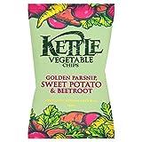 ( 18 Pack ) KETTLE® Vegetable Chips Golden Parsnip, Sweet Potato & Beetroot 40g