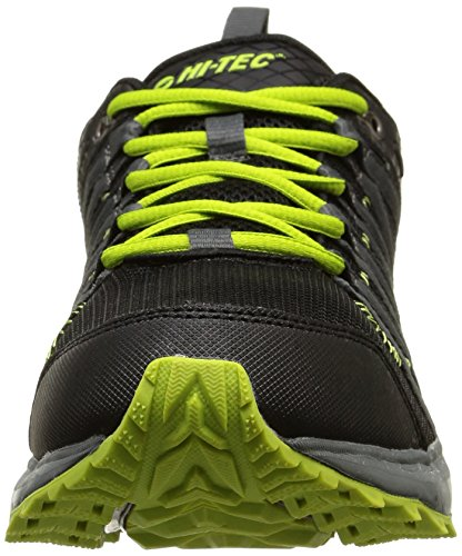 Hi-Tec Sensor Trail Lite, Multisport Outdoor Homme Vert (Black/Graphite/Lime)
