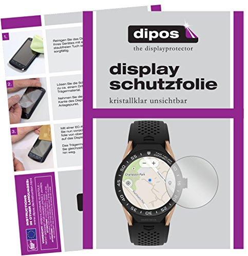 dipos I 6X Schutzfolie klar passend für Tag Heuer Connected Modular 45 Folie Bildschirmschutzfolie
