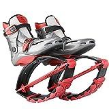 YxnGu Unisex-Jumping-Schuhe - Anti-Schwerkraft-Laufstiefel für Erwachsene, Jugendliche und Kinder - Bounce-Schuhe zum Tanzen, Laufen, Basketball usw. (Farbe : Rot, größe : XL)