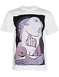 PALLAS Men's Pable Picasso Art Print T Shirt -PA279