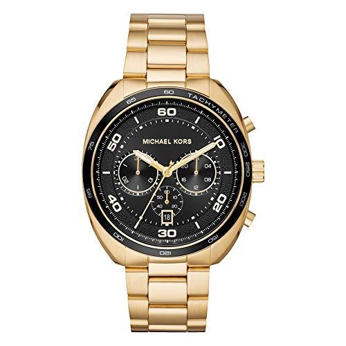 Michael Kors Herren Chronograph Quarz Uhr mit Edelstahl Armband MK8614