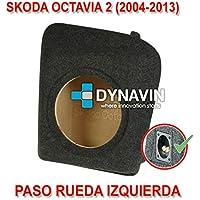 1999-2005 SEAT LEON 1 CAJA ACUSTICA PARA SUBWOOFER ESPEC/ÍFICA PARA HUECO EN EL MALETERO RUEDA IZQUIER