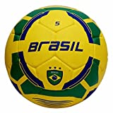 Vector X Brasil Rubber Moulded Football, Size 5