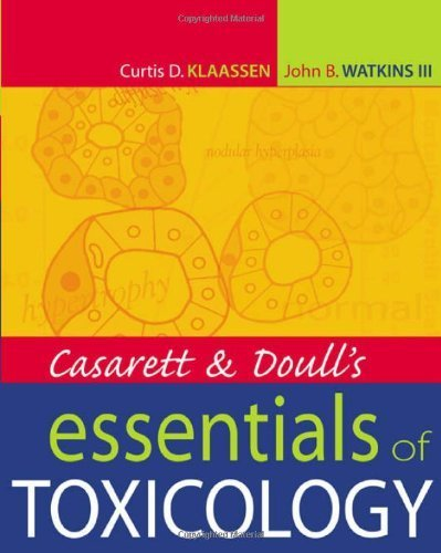 Casarett & Doull's Essentials of Toxicology (Casarett and Doull's Essentials of Toxicology) 1st Edition by Klaassen,Curtis, Watkins III,John B. (2003) Paperback
