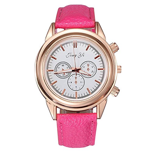 mode-trois-ornementale-cadran-montre-des-femmes-personnalis-rose-rouge
