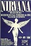 Classic Posters Reproduction d'affiche de Photo 40cm x 30cm Nirvana Espagne Concert