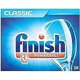 Finition classique Powerball Lave-vaisselle comprimés (30) - Paquet de 6