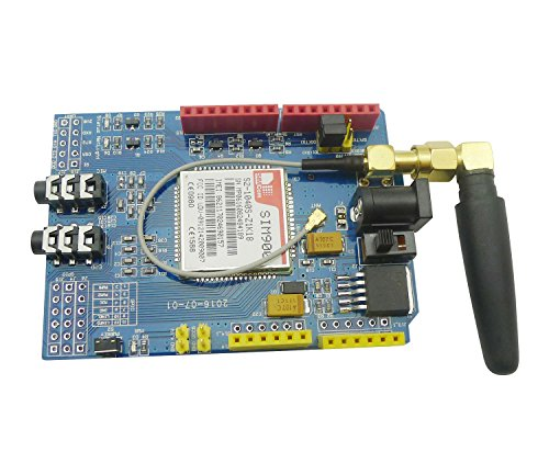 51DMsc0t9XL - Aihasd SIM900 GSM GPRS Module Quad-Band Development Board Wireless Data for Arduino Raspberry Pi