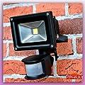 LED Fluter 10W mit Bewegungsmelder neutral Strahler Scheinwerfer Aussenleuchten LED von Maxkomfort bei Lampenhans.de