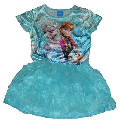 froren in Aktion Anna Elsa Olaf T¨¹ll Kleid (Medium 7/8) (Kleider Elsa Eingefroren)