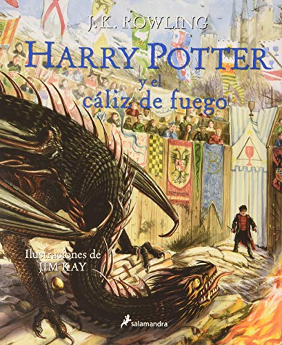 Harry Potter y el cáliz de fuego (Harry Potter (Ilustrado), Band 4)