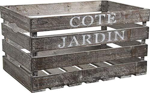 Caisse en bois Côté Jardin
