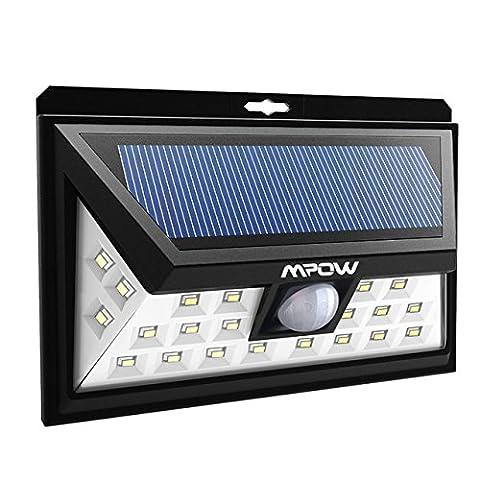 [Nouvelle Version] 24 LED Lampe Solaire Extétieur IP65 étanche sans