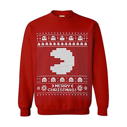 Pacman Weihnachtspullover (M) ()