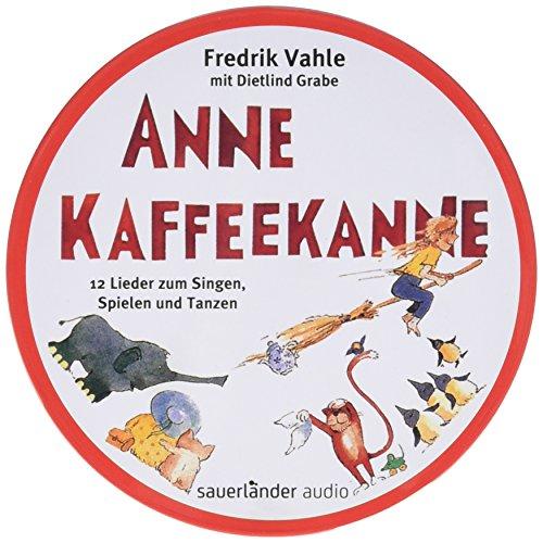 Produktbild Anne Kaffeekanne: 12 Lieder zum Singen, Spielen und Tanzen. CD in runder Metalldose