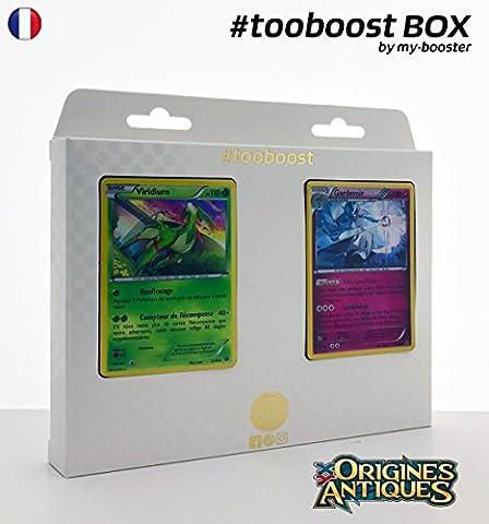 Coffret #tooboost VIRIDIUM et GARDEVOIR - XY07 - 10 cartes Pokemon francaises