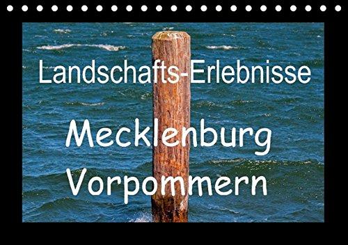 Landschafts-Erlebnisse Mecklenburg Vorpommern (Tischkalender immerwährend DIN A5 quer): Stimmungsvolle Idylle, romantische Städte und die Seenplatte ... Orte) [Kalender] [Oct 17, 2013] Kaula, Gabi