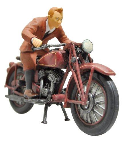 Plastoy 60872 - Figura de Tintín y Motocicleta 2