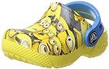 Crocs Fun Lab Minion Graphic, Unisex - Kinder Clogs, Gelb (Sunshine), 29/30 EU