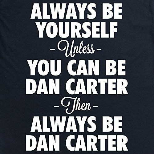 Always be Dan Carter T-Shirt, Damen Schwarz