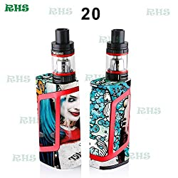 Generic Protective Skin Wrap for SMOK Alien starter kits 220W TC mod SMOK Alien 220 Mod Cover 5pcs