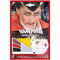 Widmann–Set Maquillaje vampiro con accesorio Boys, multicolor, talla única, vd-wdm40093