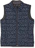 s.Oliver Mädchen Weste 73.808.53.2132, Blau (Blue AOP 58a5), 164 (Herstellergröße: L)
